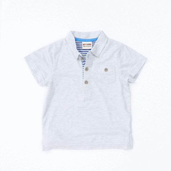 polo t shirt gray 18ss grey