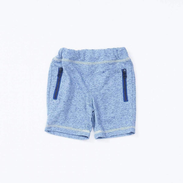 heather color shorts navy blue 18ss navy blue