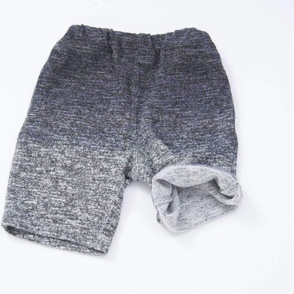 Ombre Dye Knit Shorts - CHARCOAL 18ss