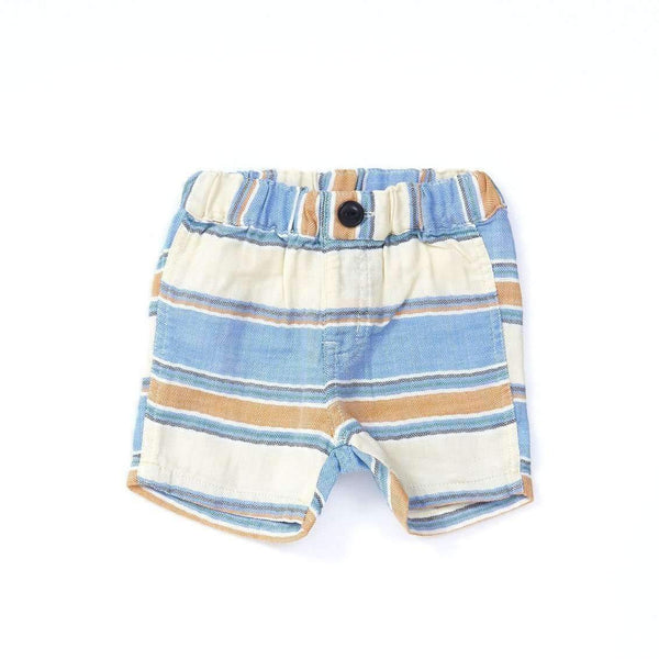 Baby Boys' W Gauze Stripe Shorts - LIGHT CREAM 18ss