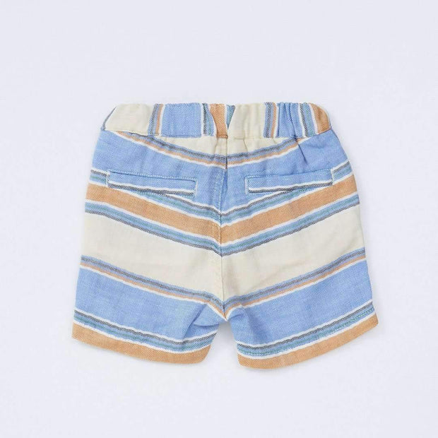 Baby Boys' W Gauze Stripe Shorts LIGHT CREAM 18ss - Bit'z Kids