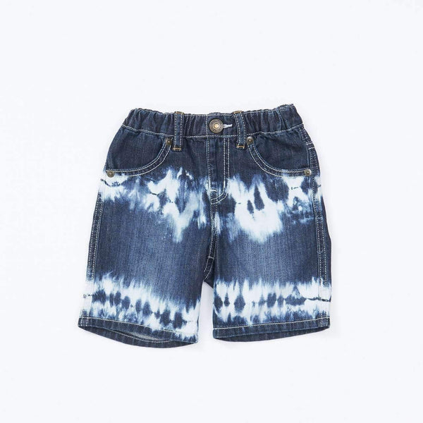 Bleach Denim Shorts NAVY BLUE 18ss - Bit'z Kids