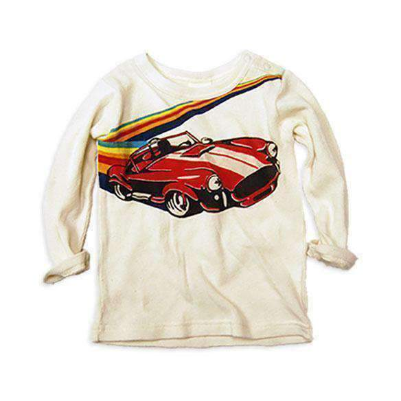 racing car tee off white