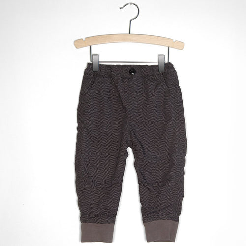 Fleece Lined Jogger Pants - Charcoal