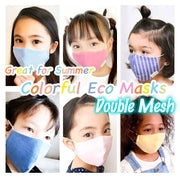 Colorful Eco Mask Double Mesh Made in Japan