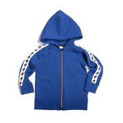Cozy Bolt Trim Zip Up Hoodie