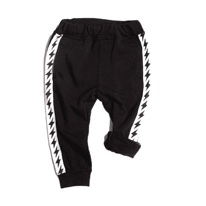 Cozy Bolt Trim Sweatpants