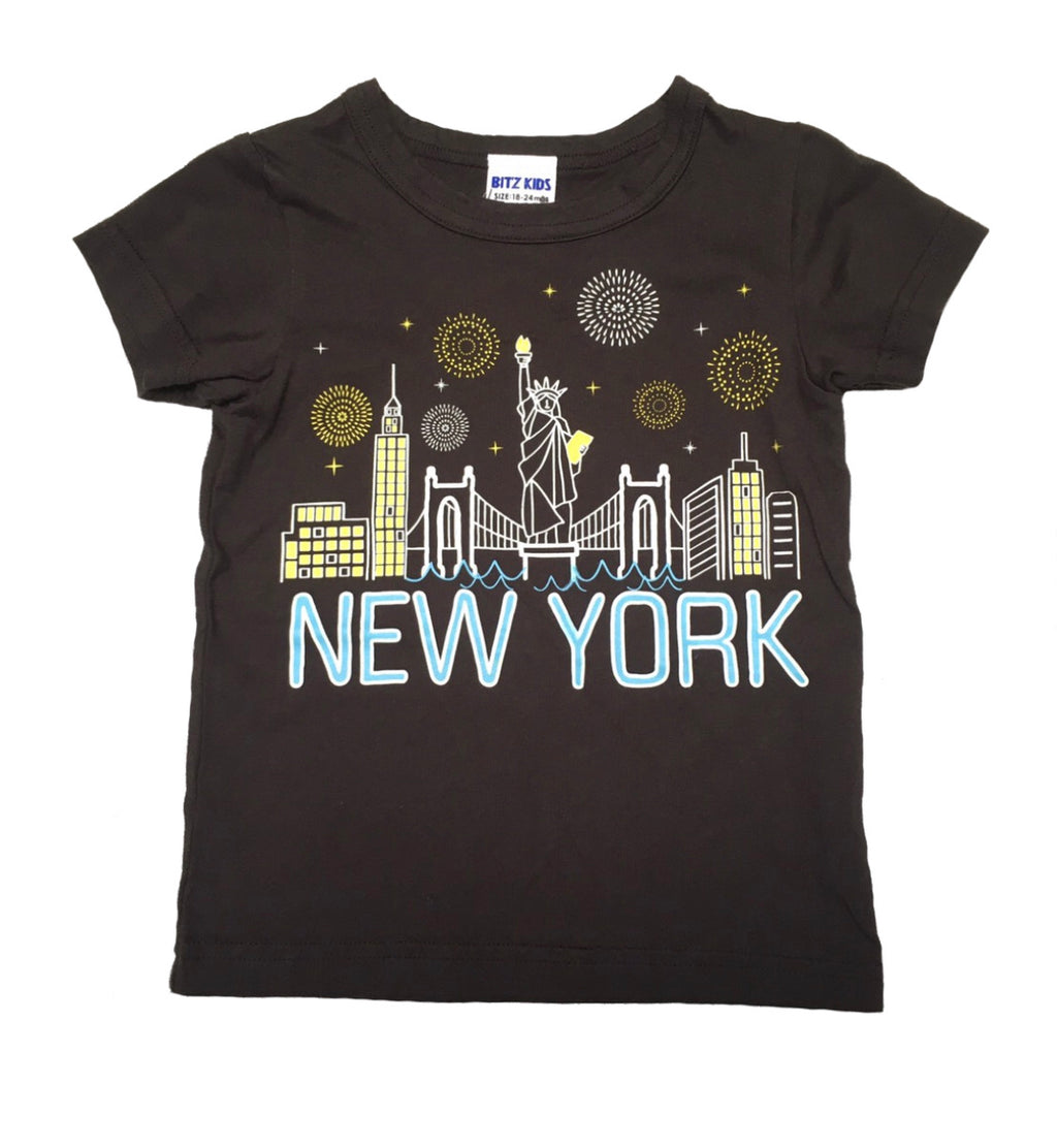 NEW YORK DARKNESS LUMINOUS T-SHIRT BA07030 SS20