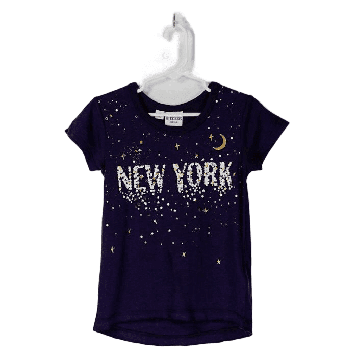 Girl's Print Tee - New York