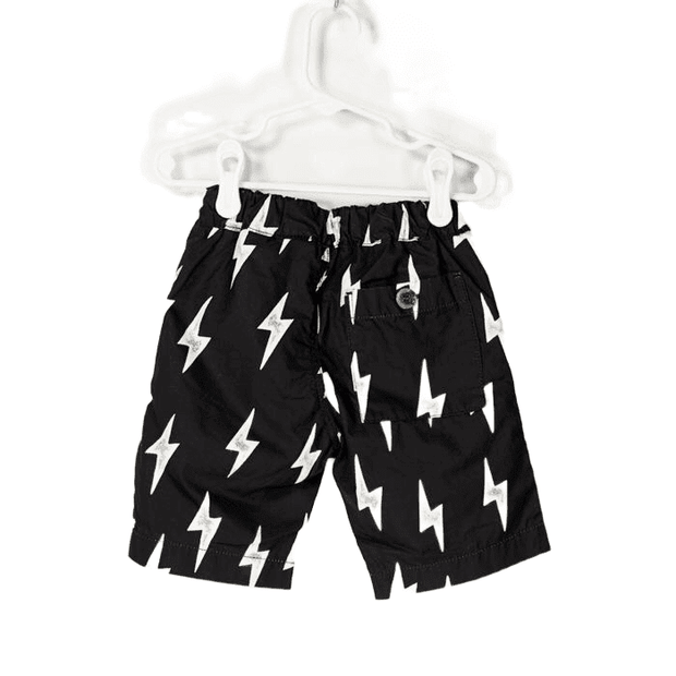Easy Pull on Cotton Typewriter Shorts