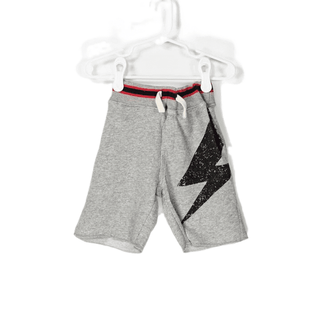 Easy Pull on Lightning Bolt Comfy Shorts