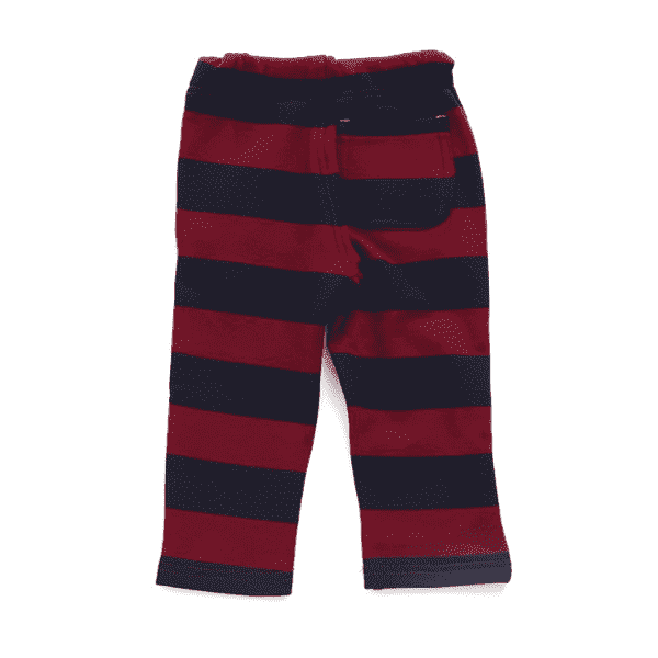 prints shaggy cut off pants red