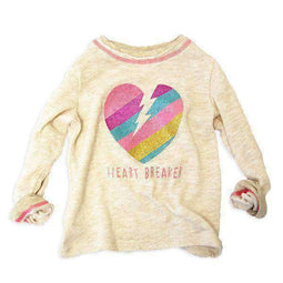 Girls' Heartbreaker Tee - IVORY 18aw - Bit'z Kids