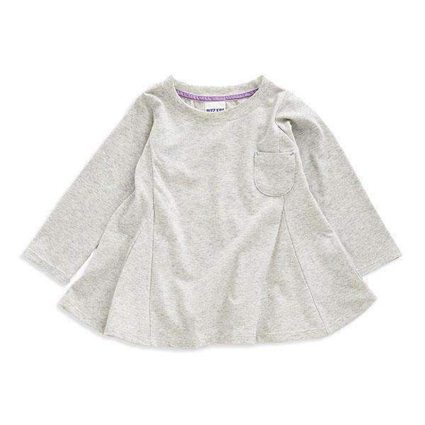 Girls' Simple Flare Tunic - Bit'z Kids