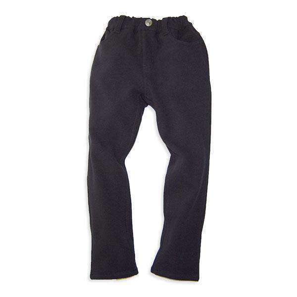Knit Twill Slim Fit Pants - Bit'z Kids