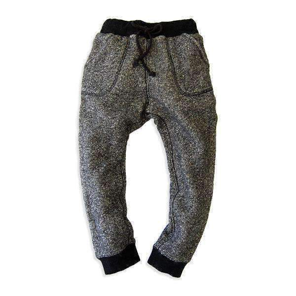 Heather Color Sweat Pants - BLACK 18aw