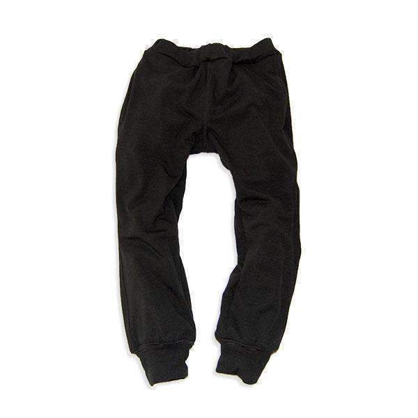 Soft Knit Lined Pants - BLACK  18aw