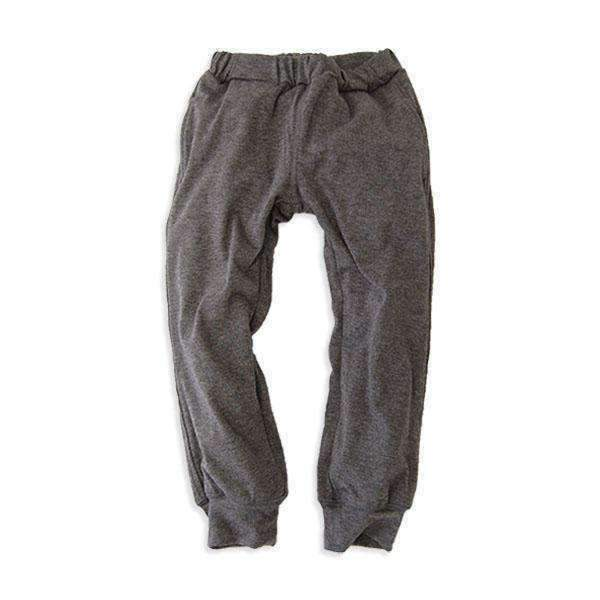 Soft Knit Lined Pants - CHARCOAL 18aw
