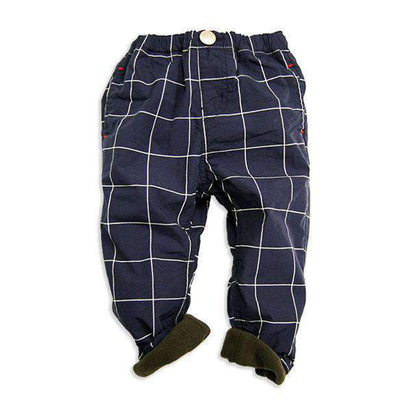 Fleece Lined Jogger Pants - NAVY BLUE18aw - Bit'z Kids