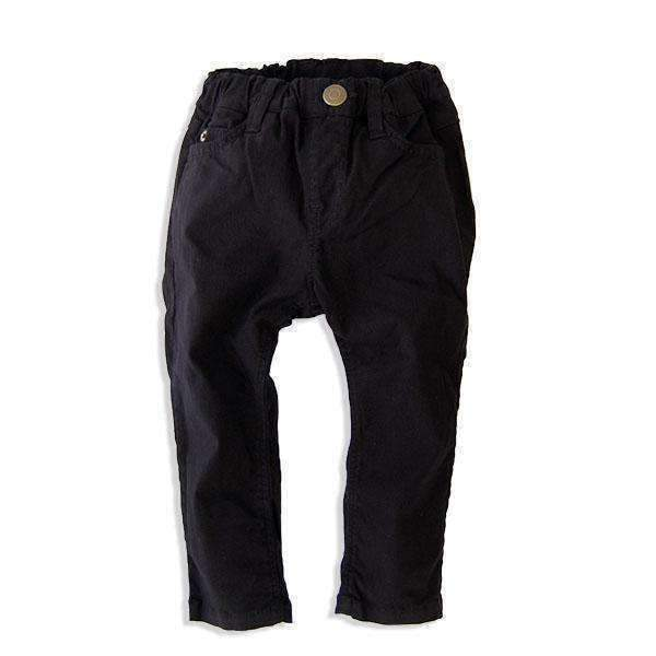 super stretch slim pants black