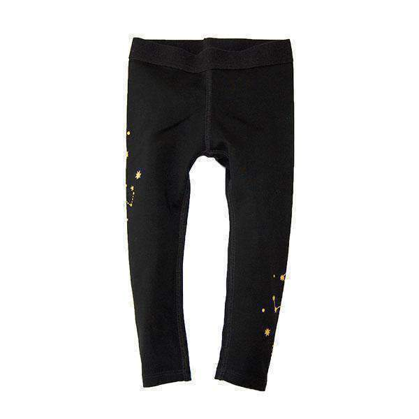 Girls' Star Printed Leggings - BLACK 18aw - Bit'z Kids