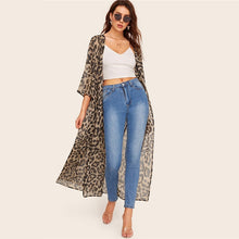 Load image into Gallery viewer, Cardigan Women Long Blouse 2019 Spring Summer Casual Vacation Kimonos