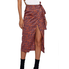 Load image into Gallery viewer, Womail Women Skirt Summer Fashion Sexy Print High Waist Irregular Split Bandage Pencil Skirt Daily Casual 2019 dropship f10