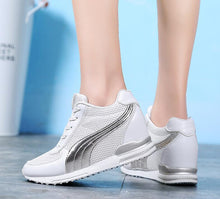 Load image into Gallery viewer, Akexiya Women High Heels Spring Autumn Fashion Casual Wedge Sneakers Woman Height Increasing Platform Shoes Zapatillas Deportiva