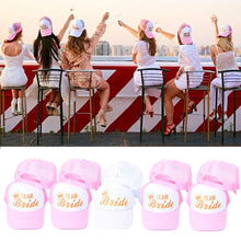 Load image into Gallery viewer, Baseball Cap Bride To Be Bachelorette Party Bridal Shower Wedding Party Decoration Bride Hen Party Accessories,Q