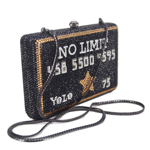 Party Purse Bags Female Wedding Bridal Bags Black Handbags
