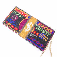 Load image into Gallery viewer, Bee In Fly Luxury Hand Inlaid Diamond Evening Bag Dollars Clutch Women'S Wedding Zero Wallet  Stack of Cash Funny Money Bag