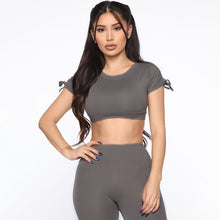 Load image into Gallery viewer, 2019 New Women Backless Print Yoga Set High Waist Patchwork Stretchy Fitness Jumpsuit Gym Wear Sport Suit Push Up Yoga Pants Bra