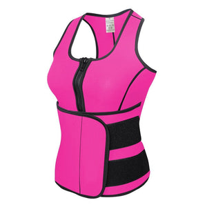 NEW Neoprene Sauna Vest Body Shaper Slimming Waist Trainer Hot Shaper Fashion Workout Shapewear Adjustable Sweat Belt Corset