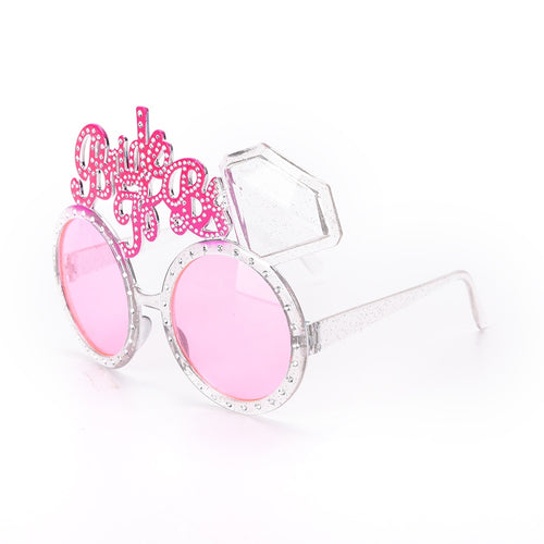 15 x 10cm Bride To Be Glasses Bride Sunglasses Eye Decoration Bachelorette Hen Party Supplies
