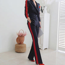 Load image into Gallery viewer, New arrival women high quality temperament fashion wild suit slim pant comfortable thick warm trend outdoor office pant suits