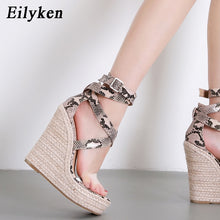 Load image into Gallery viewer, Sandals Gladiator Fashion High heels Wedges