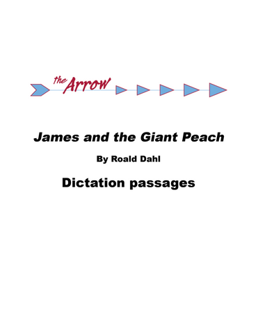 *Free Sample: James and the Giant Peach