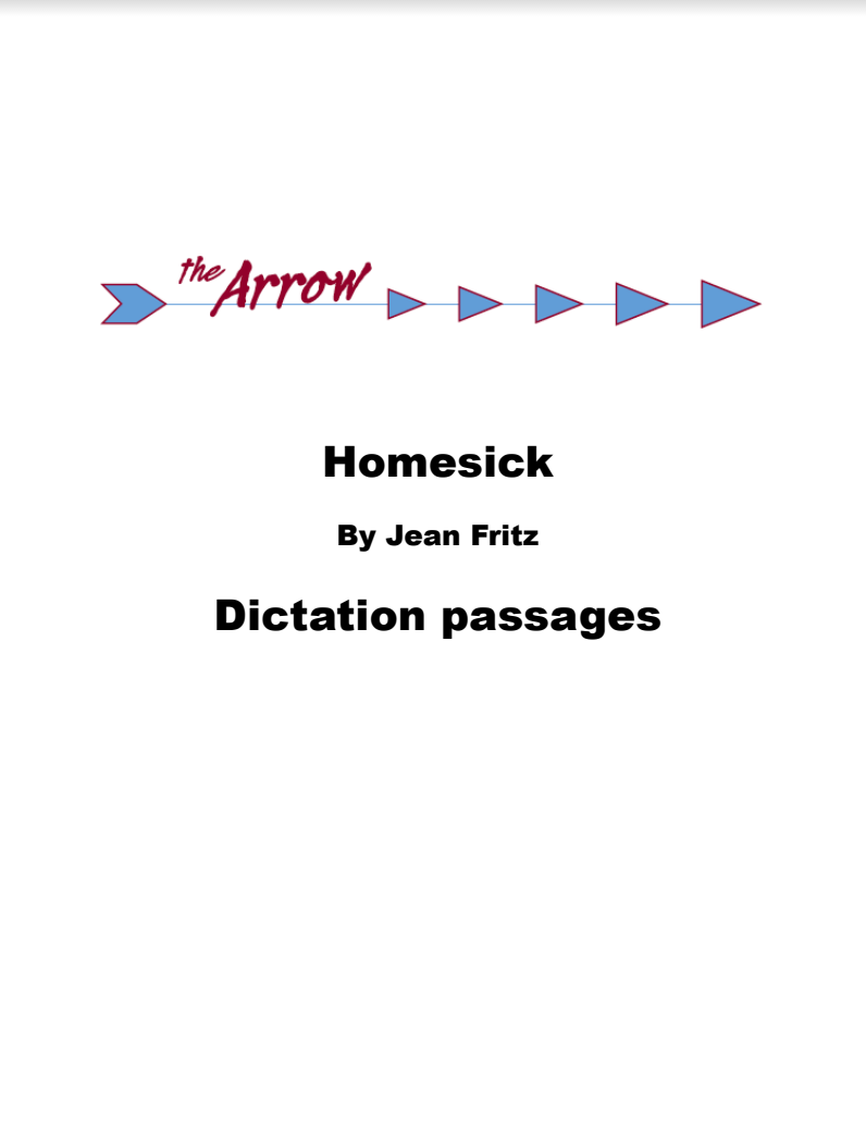 Homesick Brave Writer