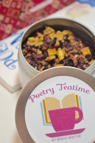 Poetry Teatime Custom Blend: Gilgamesh Herbal Tea