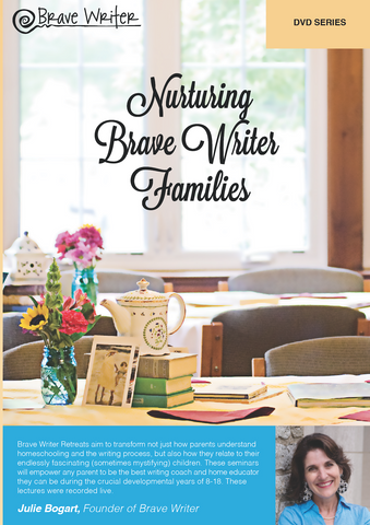 Nurturing Brave Writers Retreat MP4s