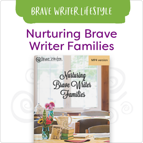Nurturing Brave Writers Retreat DVDs