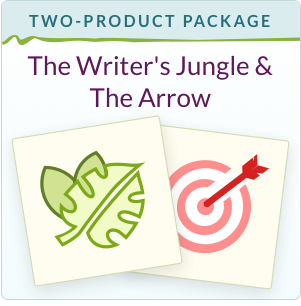The Writer's Jungle + The Arrow or A Quiver of Arrows