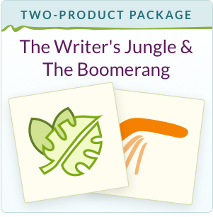 The Writer's Jungle + The Boomerang Subscription or A Pouch of Boomerangs