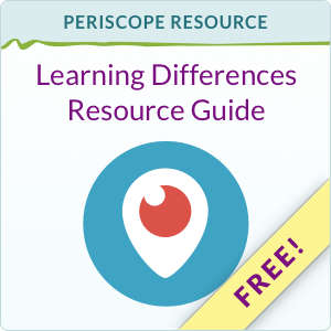 FREE: Learning Differences Resource Guide