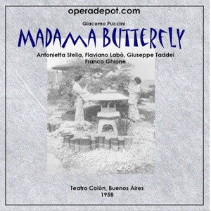 Puccini: Madama Butterfly - Stella, Labò, Taddei, Igarzabal. Buenos Aires, 1958