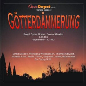 Wagner: Götterdämmerung - Nilsson, Windgassen, Frick, Stewart, Collier, Kraus, Jones, Hunter; Solti. London, 1963