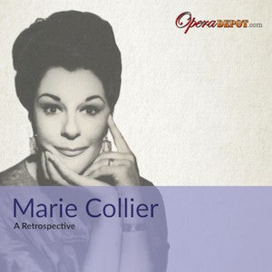 Compilation: Maria Collier - Arias and scenes from Cavalleria Rusticana, Aida, Don Carlo and more