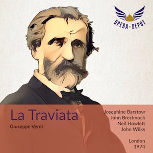 Verdi: La Traviata (In English) - Barstow, Brecknock, Howlett, Walker; Wilks. London, 1974