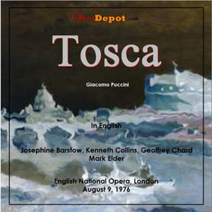 Puccini: Tosca (In English) - Barstow, Collins, Chard, Tomlinson; Elder.  London, 1976