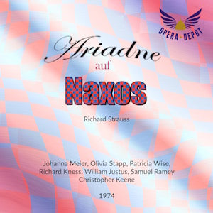 Strauss: Ariadne auf Naxos (In German & English) - J. Meier, Stapp, Wise; Keene.  1974